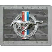 Plaque décorative Ford Mustang 35th Anniversary