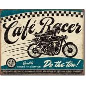 Plaque publicitaire Café Racer