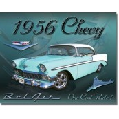 Plaque métal Chevrolet Bel Air