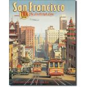 Plaque déco San Francisco