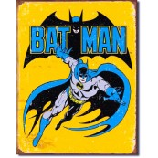 Plaque Batman retro