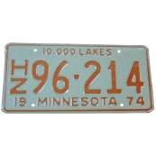 Plaque collection minnesota 10.000 lakes