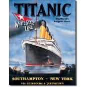 Plaque métal décorative Titanic