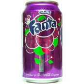 Soda Fanta Grape : Goût Raisin