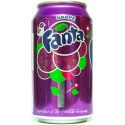 Soda Fanta Grape : Goût Raisin