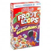 Céréales Froot Loops Kellogg's - Marshmallows