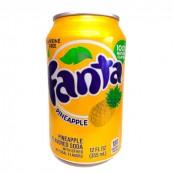 Soda Fanta PineApple : Goût Ananas