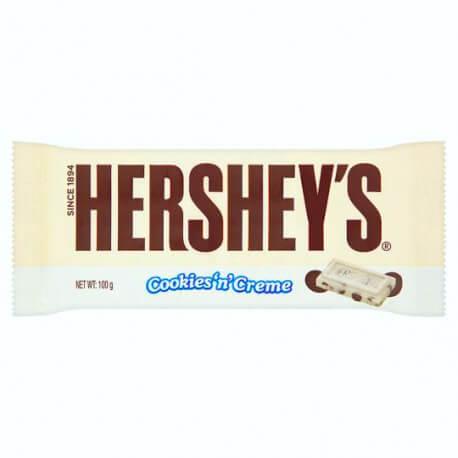 Tablette Hershey's cookies n creme 100g