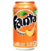 Soda Fanta Peach : Goût Pêche
