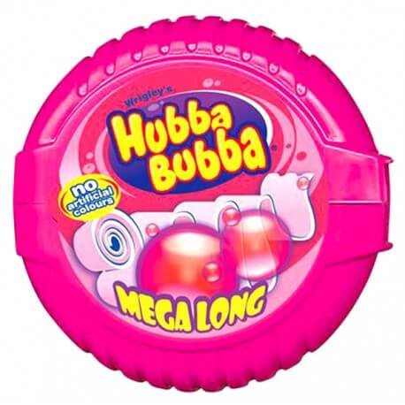 Wrigley Hubba Bubba fancy fruit