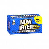 Chewing gum Now and Later Blue Raspberry