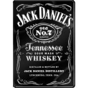 Plaque métal Jack Daniel's GRAND FORMAT