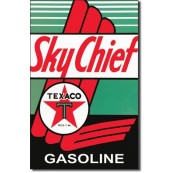 Plaque Métal Texaco Sky Chief
