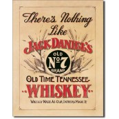 Plaque métal Jack Daniel's Nothing like