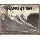 Plaque Hang Ten California Classic