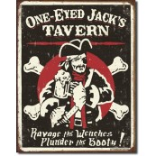 Plaque déco pirate One Eyed Jacks