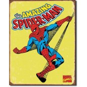 Plaque Spiderman Retro