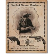 Plaque Smith & Wesson - Standard Of The World