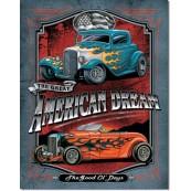 Plaque Métal Legends - American Dream