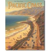 Plaque Déco Métal Pacific Coast