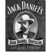 Plaque Déco Portrait Jack Daniel's