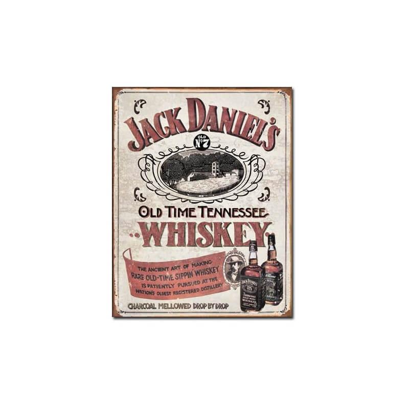 plaque d co jack daniel 39 s sippin whiskey d coration am ricaine. Black Bedroom Furniture Sets. Home Design Ideas