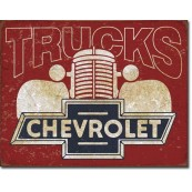 Plaque Chevy Trucks 40s