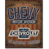 Plaque Chevy American Tradition