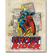 Plaque Ghost Rider Cover Splash