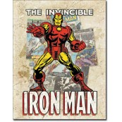 Plaque Iron Man Cover Splash