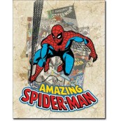 Plaque Spider-Man Cover Splash