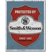 Plaque Smith & Wesson Protected By