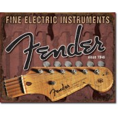 Plaque Fender Headstock