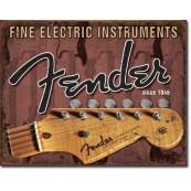 Plaque Fender Headstock