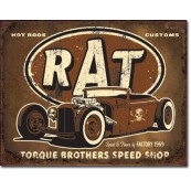 Plaque Torque - Rat Rod
