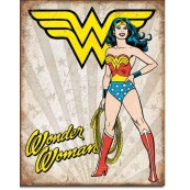Plaque Wonder Woman Heroic