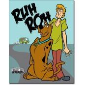 Plaque Scooby Doo - Ruh Roh