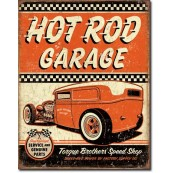 Plaque Hot Rod Garage - Rat Rod