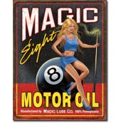 Plaque Magic Eight Motor Oil