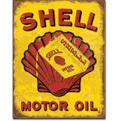 Plaque Shell Oil - Can