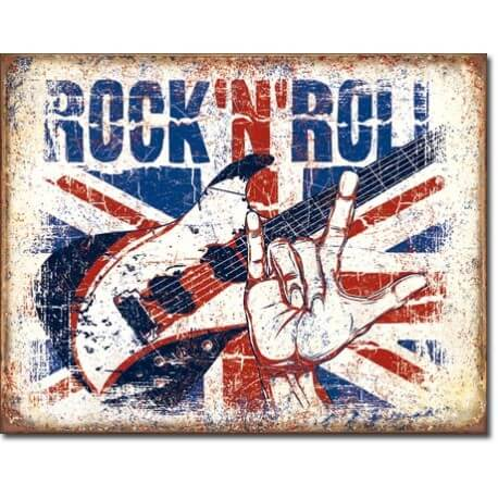 Plaque Rock n Roll