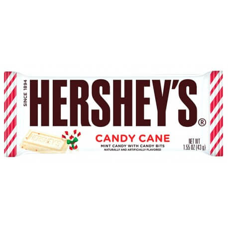 Barre chocolat Hershey's Candy Canes