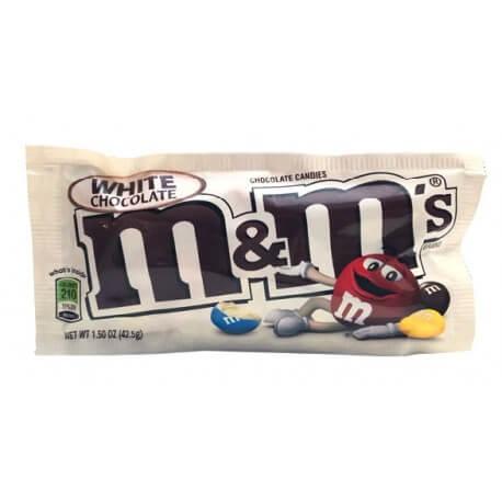 M&M's White Chocolate - Chocolat Blanc