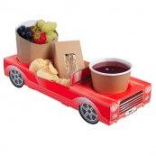 Boîte Repas En Carton Voiture Rouge (x250)