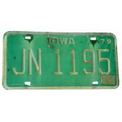 Plaque d'immatriculation Américaine Iowa