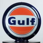 Globe de pompe à essence Opaline Gulf