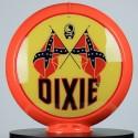 Globe de pompe à essence Opaline Dixie
