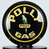 Globe de pompe à essence Opaline Polly Gas