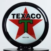 Globe de pompe à essence Opaline Texaco