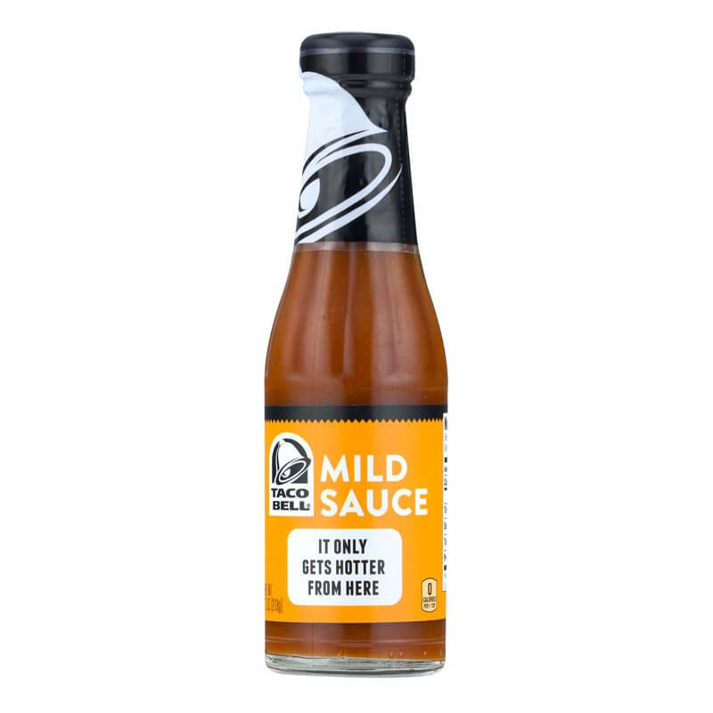 achat taco bell mild sauce sauce douce us way of life. Black Bedroom Furniture Sets. Home Design Ideas